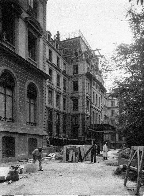 Renovations of the Hôtel National, UN Geneva Archives