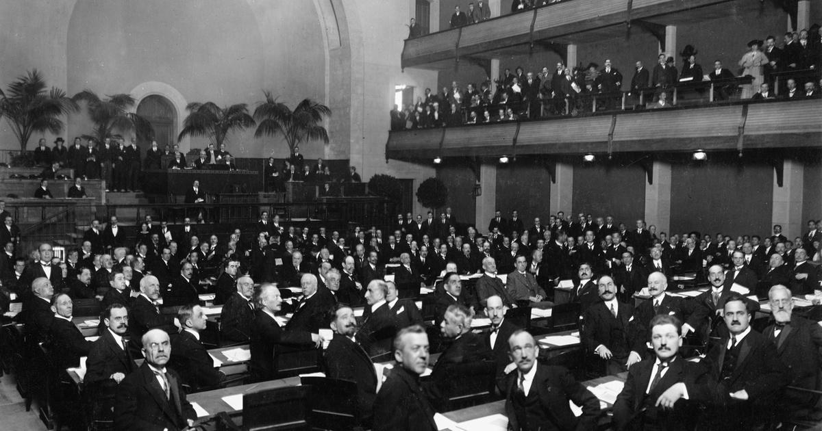 LoN first council meeting in January 1920