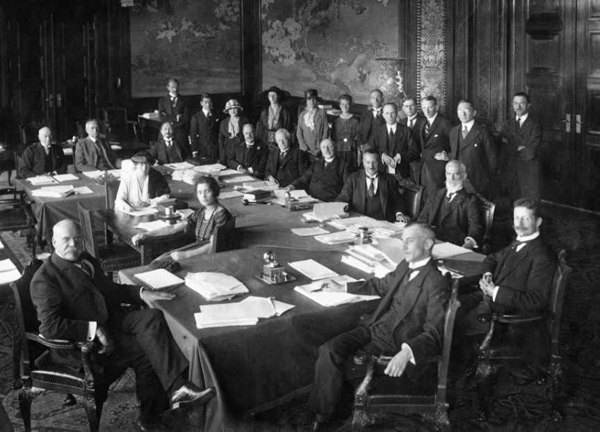 Preparing the constitution of the International Court of Justice, 1920