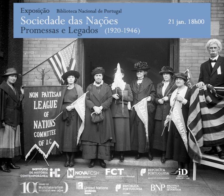 Exhibition in Lisbon: League of Nations (1920-1946) promises and legacies