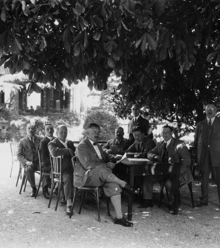 Preparatory Committee for the Disarmament Conference, 1921 - droit d'auteur C. Boesch 10, Rue Adhemar-Fabri 10 Genève